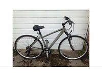 "Carrera Crossfire Hybrid 18"" Mens Bike - Newly New"