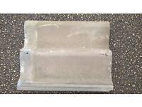 100 x Redland Grovebury grey concrete roof tiles 418mm x 332mm