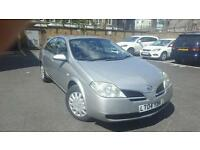 2004 NISSAN PRIMERA 1.8 PETROL AUTOMATIC.68K WARRANTED MILEAGE. LONG MOT APRIL 2017