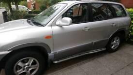 Hyundai santa fe 2004 4x4