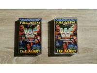 Vintage 1990's WWF Full Metal cassettes x2
