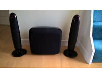 Samsung WX710 Home Theatre Surround Sound System Speakers