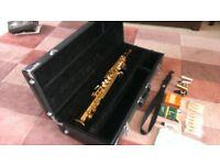 Soprano saxophone: Jupiter JPS-547 (student/intermediate level)