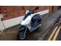 Piaggio fly 50 2007 comes with 12 months excellent runner