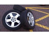 Alloy wheels R16 , Skoda/Audi/Seat/VW