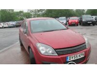 Vauxhall Astra 55 reg with long mot ,LOW INSURANCE ,VERY LOW MILES ,FULL BLACK LEATHER ,px welcome