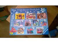 10 Disney Jig Saw Puzzles