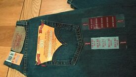 Levi's 501 original fit button fly men's jeans (mid blue) size 30 x 32 – brand new with tags £30