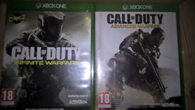 CALL OF DUTY ADVANCED WARFARE+INFINITE WARFARE XBOX ONE