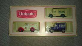 unigate boxed model van set