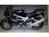 Reduced!! Honda VTR 100 Firestorm 1998 (R Plate) only 23,000miles