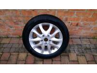 Alloy wheel 16 inch brand new complete with new tyre.