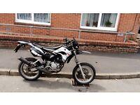 Motorhispania 50cc Supermoto, 70cc bore kit! CHEAP !!!! ROAD LEGAL