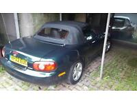 Mazda mx5 convertible .66k fsh showroom condition .2 owners from new 12mth mot