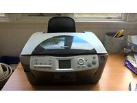 Free Epsom Stylus Photo RX620 + instructions and 16 printer inks