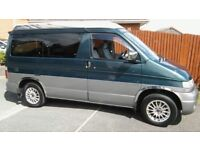 Mazda Bongo Campervan 2.5L Diesel Automatic end kitchen 4 berth with roof bed