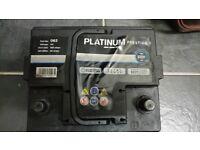 Platinum car battery