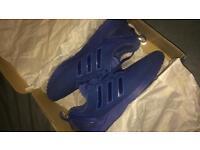 TRIPLE BLUE ADIDAS ZX FLUX ADV SIZE UK 10.5