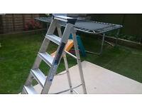 Youngman Builders Steps Aluminium 6 tread