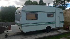 vintage caravan project, elddis shamal 1970/80s, needs completing