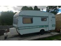 vintage caravan project, elddis shamal 1970/80s, needs completing