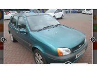 Cheap ideal first car 5 door 2001 reg ford fiesta with long mot ,px welcome
