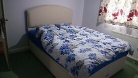 Dreams King Size Brand New Divan Bed With Headboard and Mattresses
