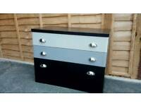 Stag solid chest of drawers