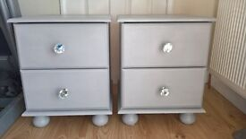 Bedside tables and matching wardrobe