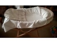 Moses Basket for sale - In perfect condition
