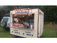 hot donut trailer / catering trailer