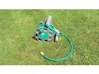 Hoselock 25 meter hose and reel
