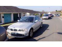 BMW 320ci E46 2001 - Silver - Spares or Repair
