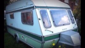 Newly refurbished Elddis Hurricane GT 2 berth caravan