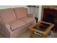 3-seater sofa in very good condition, hardly ever used, v comfy