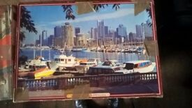 4 jigsaw puzzles, 1000 pieces each