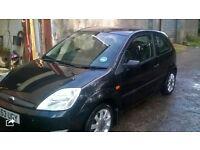2003 Fiesta Black 1.3 16v
