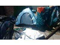 2 birth tent with awning