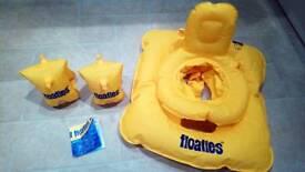 'Floaties' swimming aids