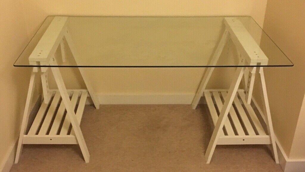 Glasholm finnvard table ikea ikea glasholm desk desk decorating