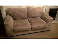 Two seater sofa - grey