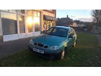 Daewoo lanos 5 door hatch very low miles
