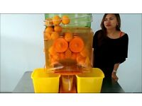 ORANGE JUICE MACHINE AUTOFEED PERFECT FOR ALL TYPE BUSINESS