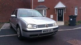 VW Golf 2000 1.4 Petrol **Good Runner**