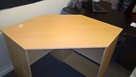 office desk Beech effect
