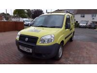 2007 FIAT DOBLO VAN 1.3 16V DIESEL WITH ROOF RACK IN VERY GOOD CONDITION, LOOKS AND DRIVE GREAT