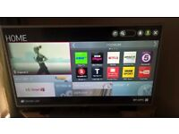 LG 42 inch Smart tv full HD Freeview and Saorview (RTE) built in