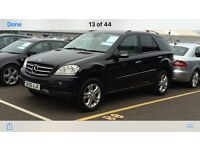 2006 mercedes ml320 cdi se in black, 116k fsh remapped to 295bhp.....awesome car