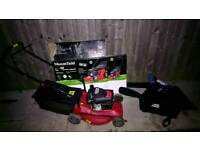 Lawn mower and saw