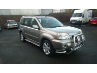 NISSAN X TRAIL 2.2 DIESEL, 4X4, 1 OWNER FROM NEW, 5 DOOR, SILVER, SAT NAV, PANORAMIC SUNROOF TOWBAR